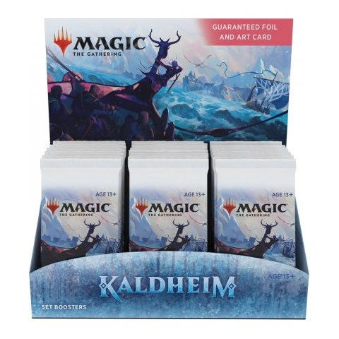 MTG: Kaldheim Set Booster Display/Box (30 Packs)