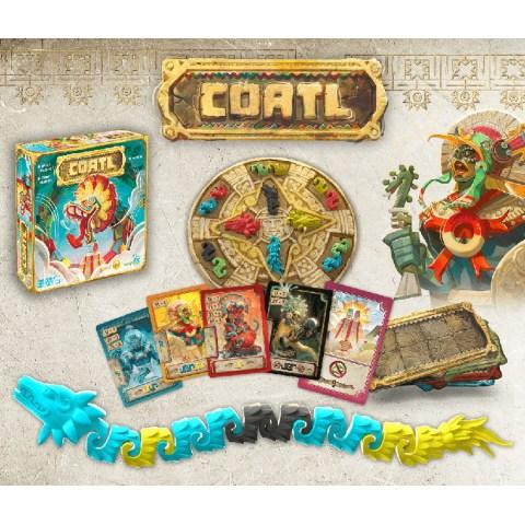 (Pre-order) Cóatl (2020) - настолна игра