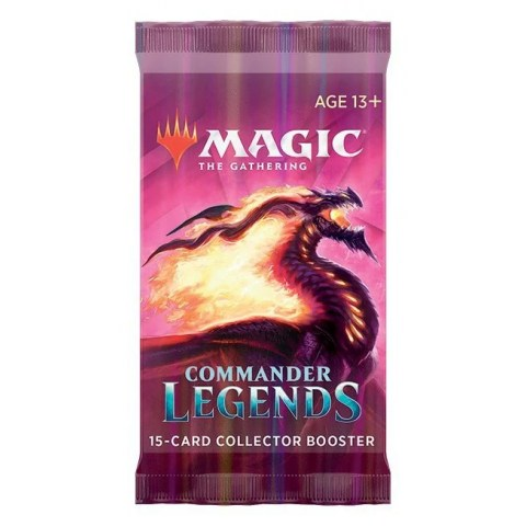 MTG: Commander Legends Collector Booster (1 бустер)