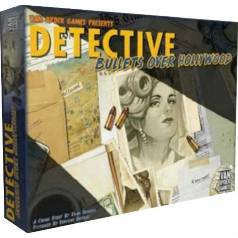 Detective: City of Angels - Bullets Over Hollywood Expansion - разширение за настолна игра