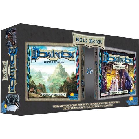Dominion (Second Edition) Big Box (2016) - настолна игра с карти