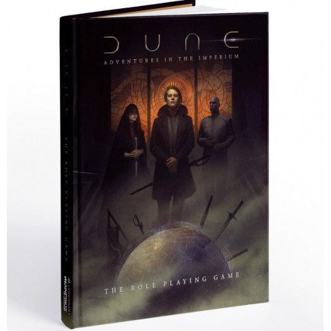 Dune RPG: Adventures in the Imperium – Core Rulebook Standard Edition в D&D и други RPG / Други RPG