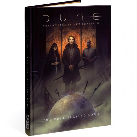 Dune RPG: Adventures in the Imperium – Core Rulebook Standard Edition