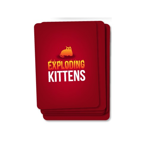 Exploding Kittens: NSFW Edition (18+) - настолна игра Експлодиращи котета, английско издание (2015)