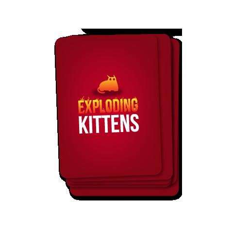 Exploding Kittens: Party Pack (2-10 играча, 2019) - настолна игра