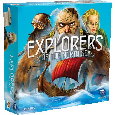 Explorers of the North Sea (2016) - настолна игра