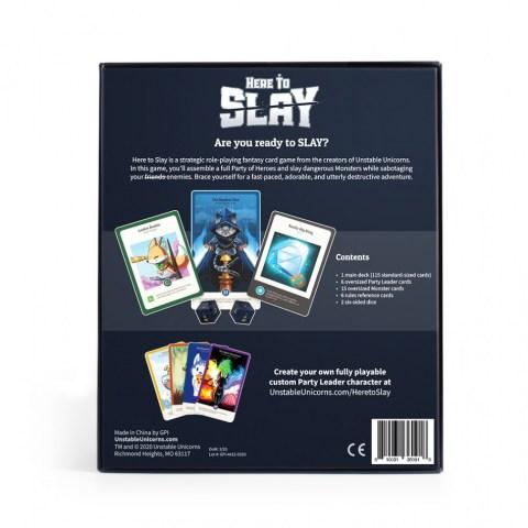 Here to Slay (2020) - настолна игра от създателите на Unstable Unicorns