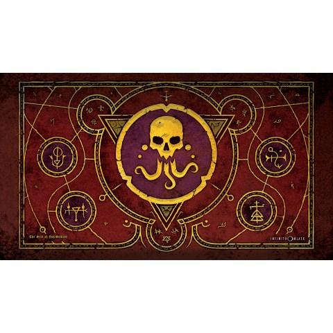 Infinite Black: The Seal of Yog-Sothoth Premium Stitched Playmat (59x36cm) в Аксесоари