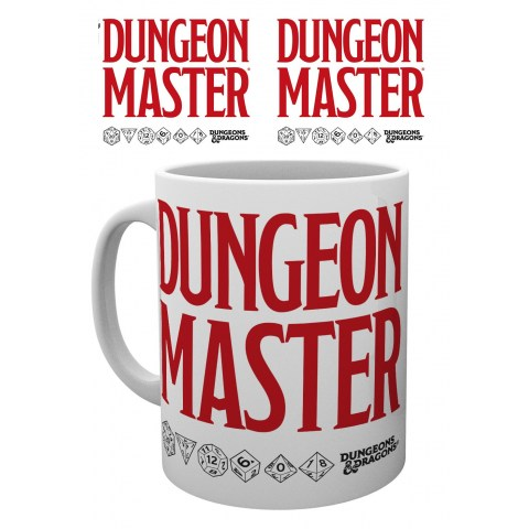 Керамична чаша - GBeye Mug: Dungeons and Dragons - Dungeon Master в Подаръци