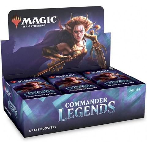 MTG: Commander Legends Draft Booster Display Box (24 boosters) в Magic: the Gathering