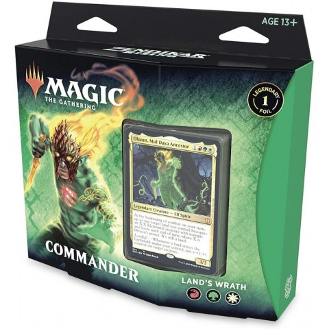 MTG: Zendikar Rising Commander - Land's Wrath в Magic: the Gathering