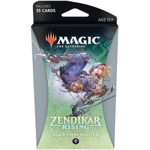 MTG: Zendikar Rising Theme Booster - Black (1) Board Game