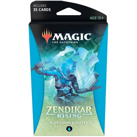 MTG: Zendikar Rising Theme Booster - Blue (1 бустер)