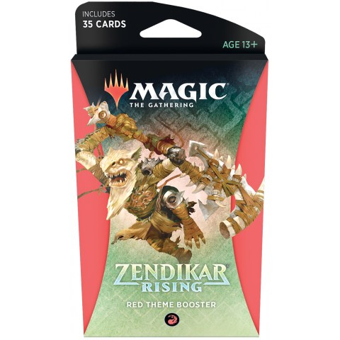 MTG: Zendikar Rising Theme Booster - Red (1)