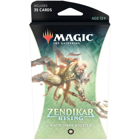 MTG: Zendikar Rising Theme Booster - White (1 бустер)