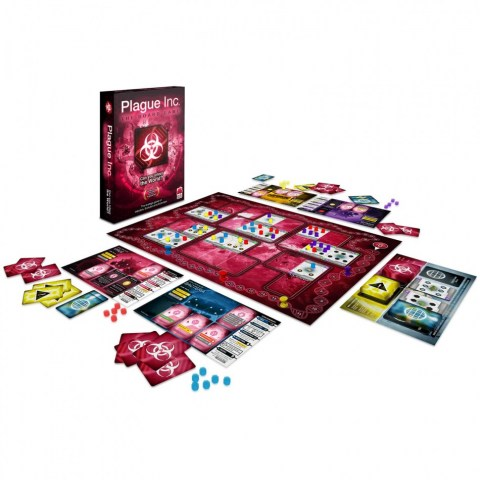 Plague Inc: The Board Game (2016) - настолна игра
