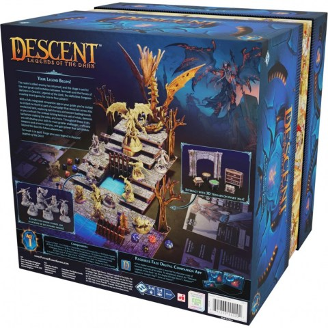 Descent: Legends of the Dark (2021) - настолна игра