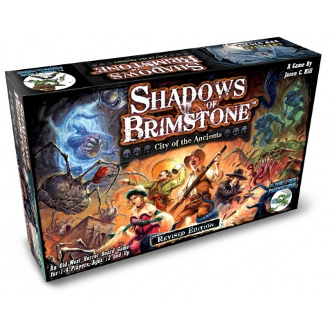 Shadows of Brimstone: City of the Ancients (REVISED EDITION) - кооперативна приключенска игра