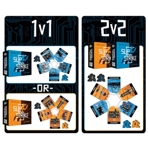 Slip Strike Bundle (Orange & Blue Editions, 2020) - настолна игра