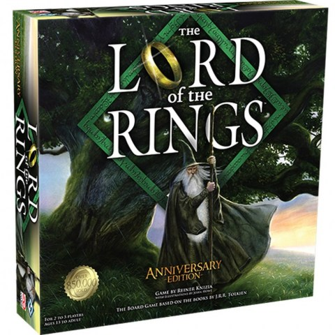 The Lord of the Rings: The Board Game Anniversary Edition (2020) - настолна игра