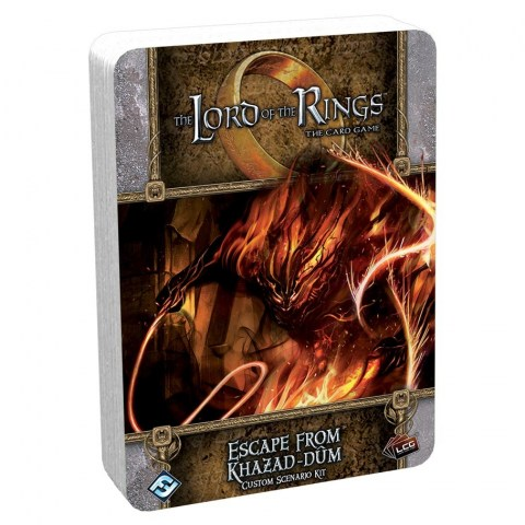 The Lord of the Rings: The Card Game - Escape from Khazad-dûm Custom Scenario Kit (2020)
