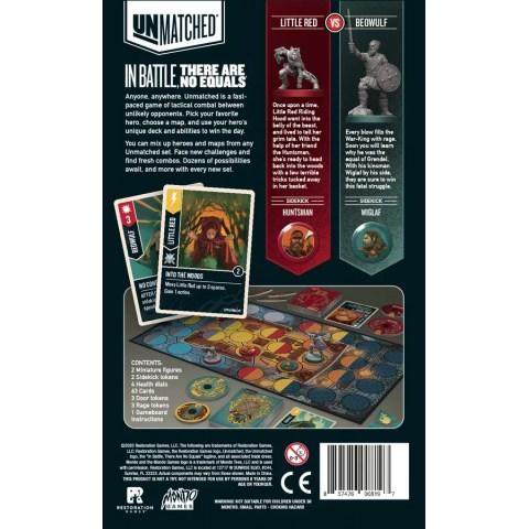 Unmatched: Little Red Riding Hood vs. Beowulf (2020) - настолна игра и разширение