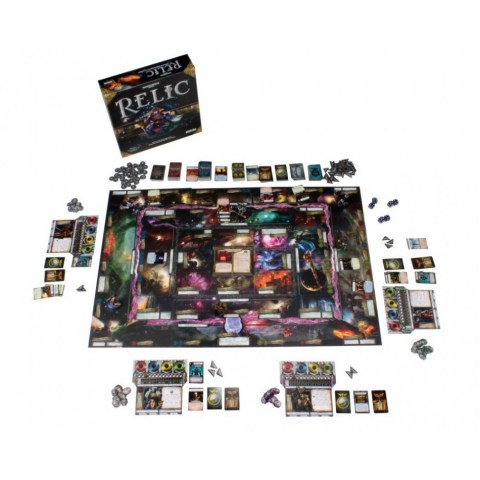 Warhammer 40K: Relic (English Second Premium Edition, 2019) - настолна игра