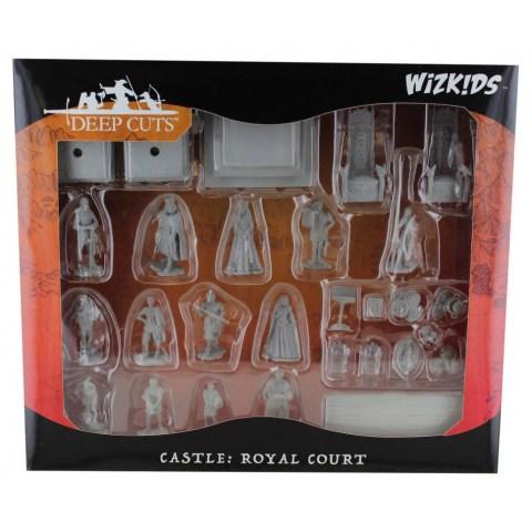 WizKids Deep Cuts Unpainted Miniatures - Castle: Royal Court