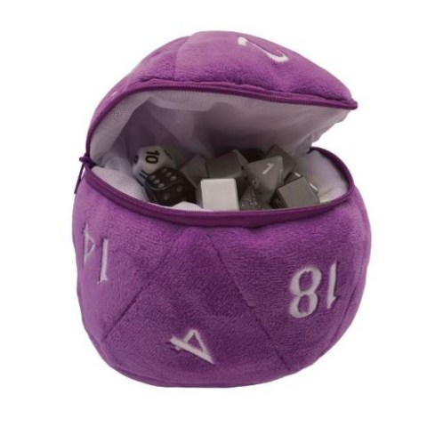 Ultra Pro: Dungeons & Dragons D20 Plush Dice Bag (Purple) в Други аксесоари