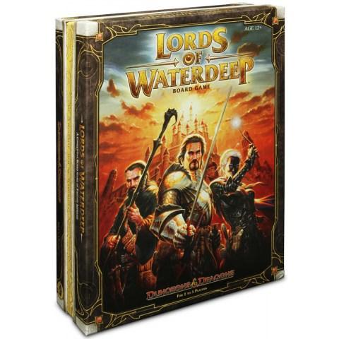 Dungeons & Dragons: Lords of Waterdeep (2012)   - настолна стратегическа игра