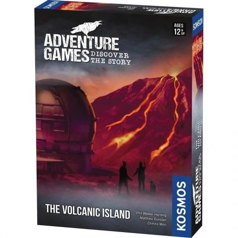 "Adventure Games: The Volcanic Island (2019)  - ""escape room"" настолна игра"