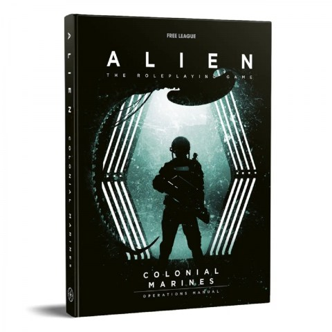 (Pre-order) ALIEN RPG: Colonial Marines Operations Manual (Campaign module) в D&D и други RPG / Други RPG