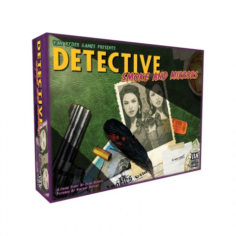 Detective: City of Angels - Smoke and Mirrors Expansion (2020)