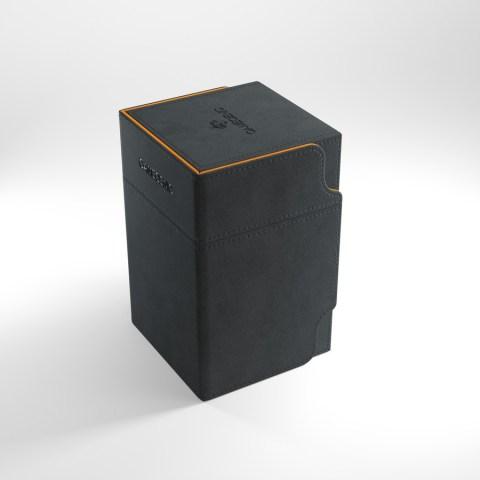 Gamegenic Watchtower 100+ XL Exclusive Edition - Black/Orange в Кутии за карти