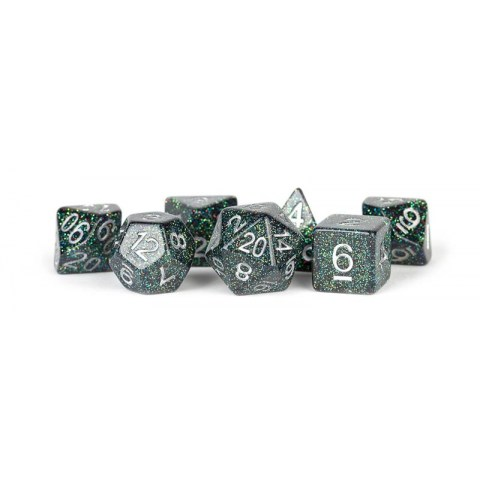 Polyhedral 7-Die Set: Metallic Dice Games - Astro Mica in D&D Dice Sets