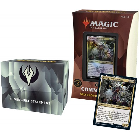 MTG: Strixhaven: School of Mages Commander Deck (Commander 2021) - Silverquill Statement (WB)
