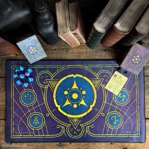 Infinite Black: Sigil of the Dreamlands Premium Stitched Playmat (59x36cm) в Аксесоари