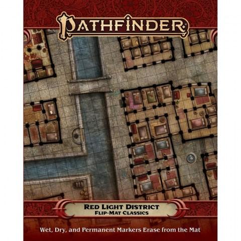 Pathfinder RPG: Flip-Mat Classics - Red Light District в D&D и други RPG / D&D / Pathfinder терен