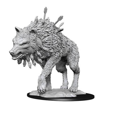Magic: The Gathering Unpainted Miniatures: Wave 14 Cosmo Wolf в D&D и други RPG / D&D Миниатюри