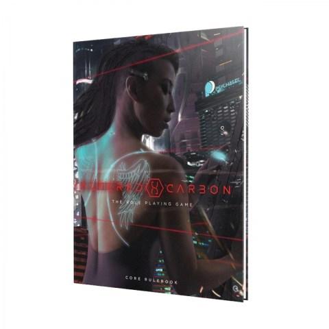 Altered Carbon RPG: Core Rulebook (Hardcover, 2020) в D&D и други RPG / Други RPG