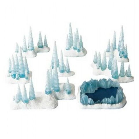 Battlefield In A Box - Caverns of Ice в D&D и други RPG / D&D / Pathfinder терен