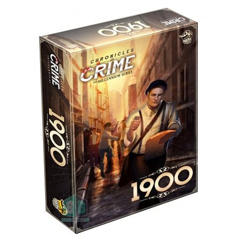 (Pre-order) Chronicles of Crime: 1900 (2021) - настолна игра