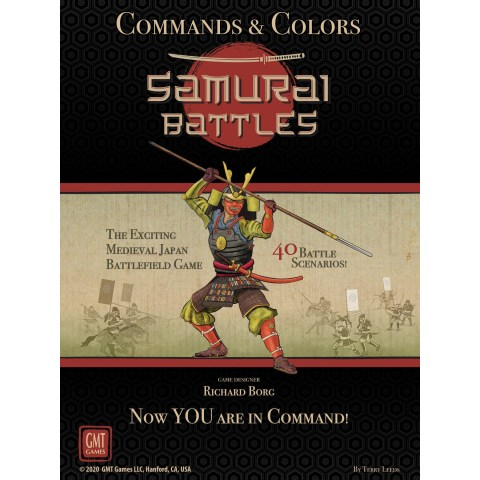 Commands & Colors: Samurai Battles (2021) - военна настолна игра