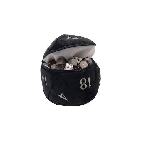 Ultra Pro: Dungeons & Dragons D20 Plush Dice Bag (Black) в Други аксесоари