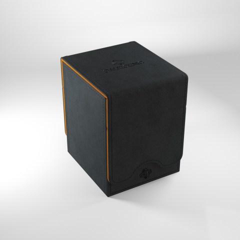 Gamegenic Squire Deck Holder (100+) - черна/оранжева кутия за карти в Кутии за карти