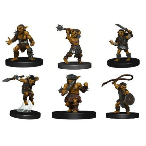 Dungeons & Dragons Fantasy Miniatures: Icons of the Realms - Monster Pack: Goblin Warband в D&D и други RPG / D&D Миниатюри