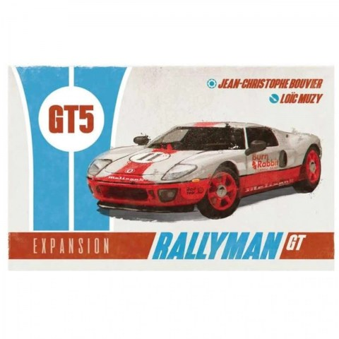 Rallyman: GT - GT5 Expansion (2020) - разширение за настолна игра