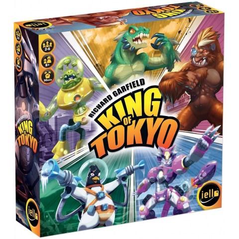 King of Tokyo (Кралят на Токио, обновено английско издание 2016) - настолна игра със зарове