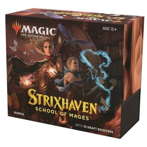 (Pre-order) MTG: Strixhaven: School of Mages Bundle (10 Booster Packs) в Magic: the Gathering