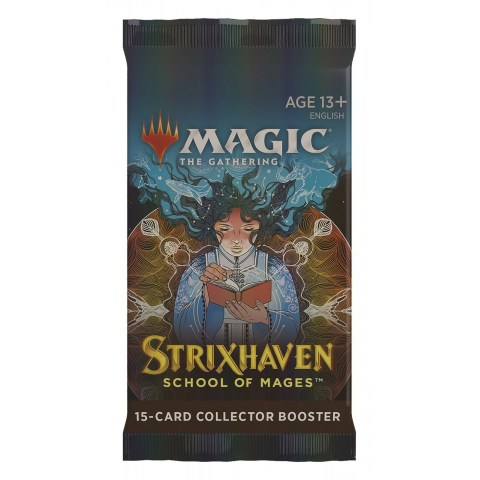 (Pre-order) MTG: Strixhaven: School of Mages Collector Booster Pack (1) в Magic: the Gathering